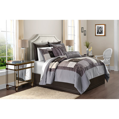 Image of Adorn Home Rochelle 4-Piece Bedding Comforter Set