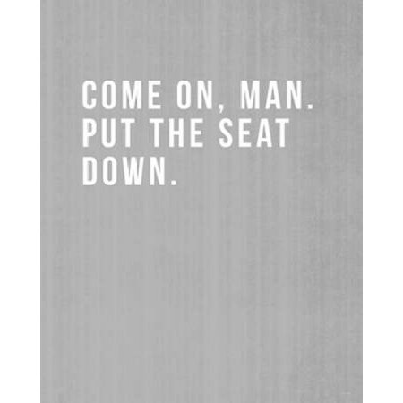 Come On Man Poster Print by Linda Woods