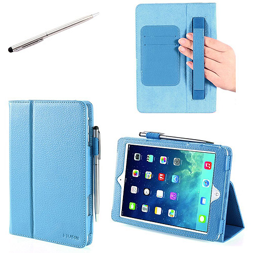 i-Blason iPad5-606 Leather Case Cover with Bonus Stylus for Apple iPad Air, Assorted Colors