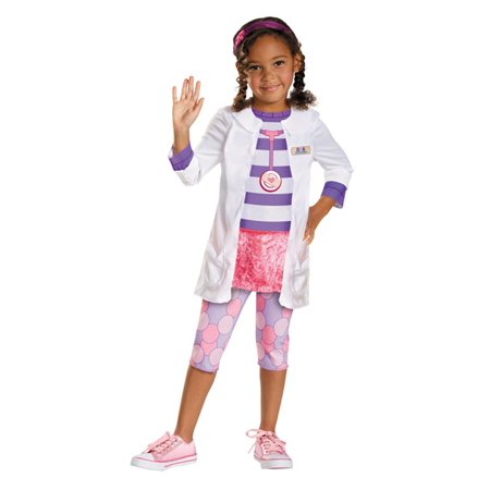 Disguise Girl'S Disney Doc Mcstuffins Classic Costume 3T 4T