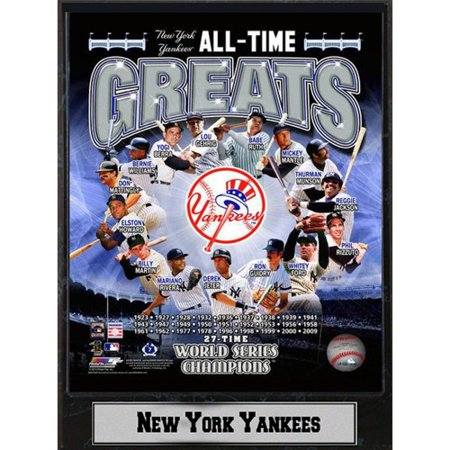 MLB New York Yankees Photo Plaque, 9x12