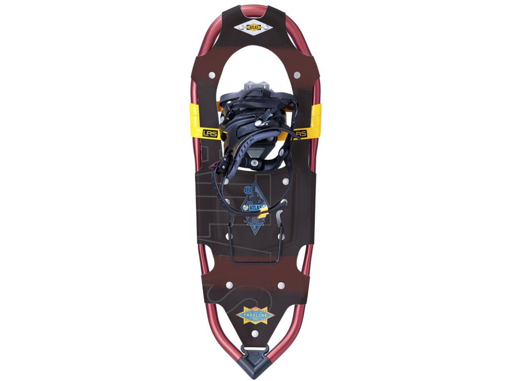 Atlas Snowshoes Treeline 25 Snowshoe Color Black Brown by Atlas Snowshoes
