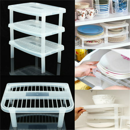 Under Sink Organizer Shelf Sink In Dry Plate Dish Organizer Bowl/Cup Holder Storage Shelf for Kitchen Home, 11