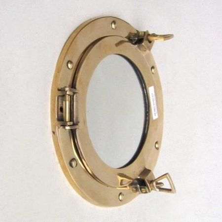 India Overseas Trading Mr4862   Brass Porthole Mirror  9