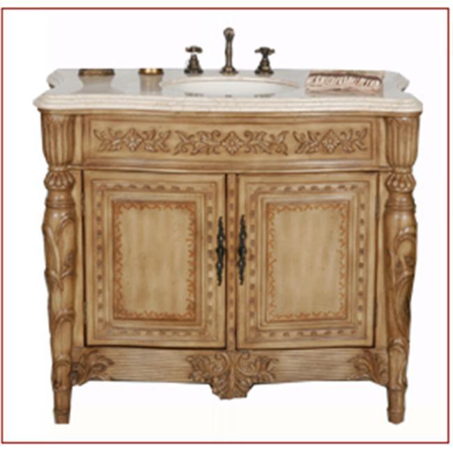 B&I World Imports 1030AL Miami Bathroom Vanity