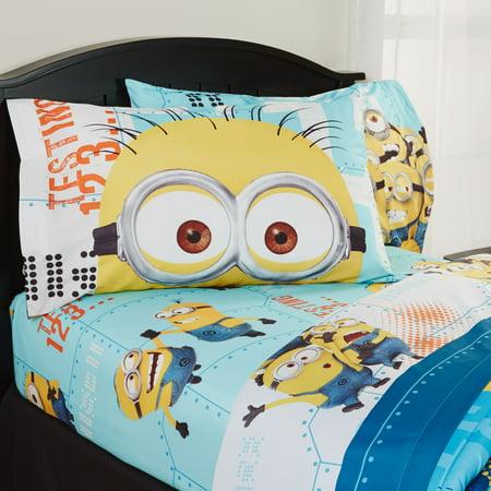 Minion Room Decor (Despicable Me Minions Kids Sheet Set, 1)