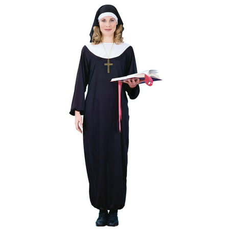 Womens Adult Nun Halloween Costume
