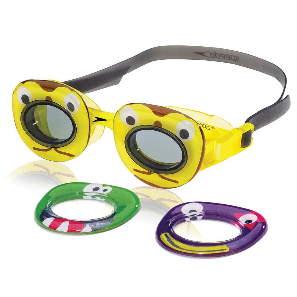 Speedo Kids' Neonwonders Swim Goggle, Yellow by Speedo