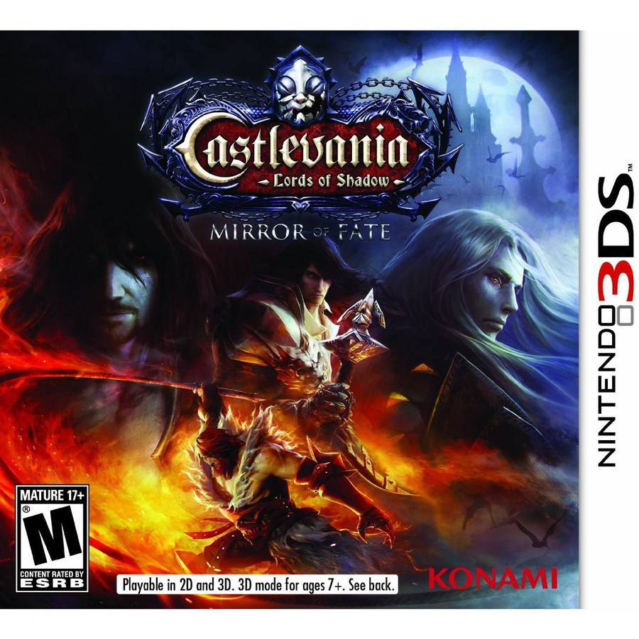 Castlevania: Lords of Shadow Mirror Fate - Nintendo 3DS
