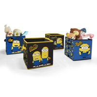 4-Pack Universal Minions 2 Toy Storage Cubes
