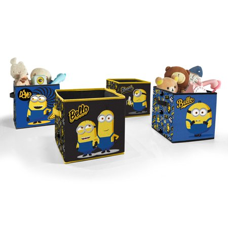 Universal Minions 2 Toy Storage Cubes Set of 4 Now $14.98 (Was $24.99)