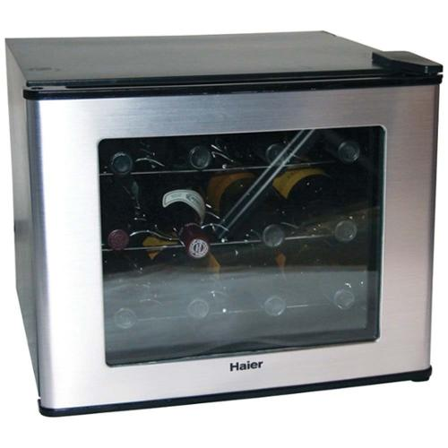 Haier HVTM12BSS 12-Bottle ThermoElectric Wine Cellar Fridge in Stainless Steel [Refurbished]