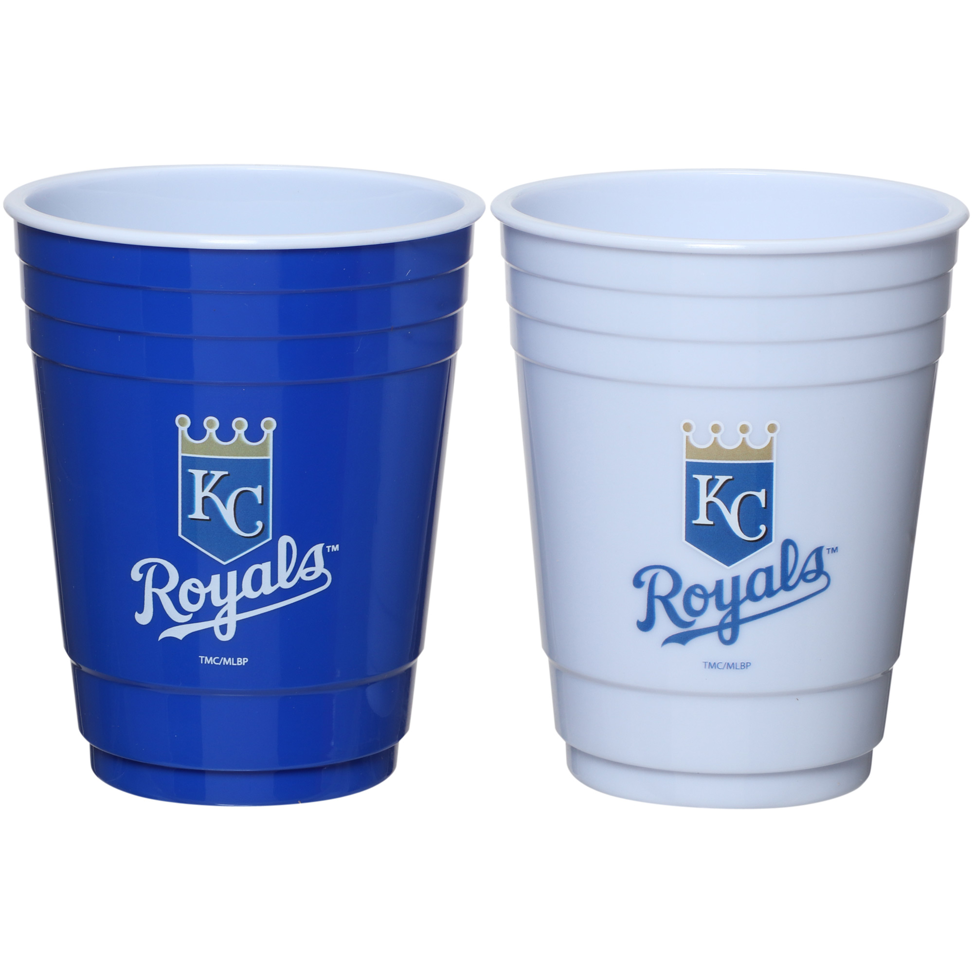 Kansas City Royals Two-Pack Home And Away Plastic Cup - No Size