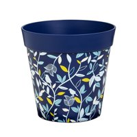 """Blue Birds and Branches 10"""" HUM Pot"""