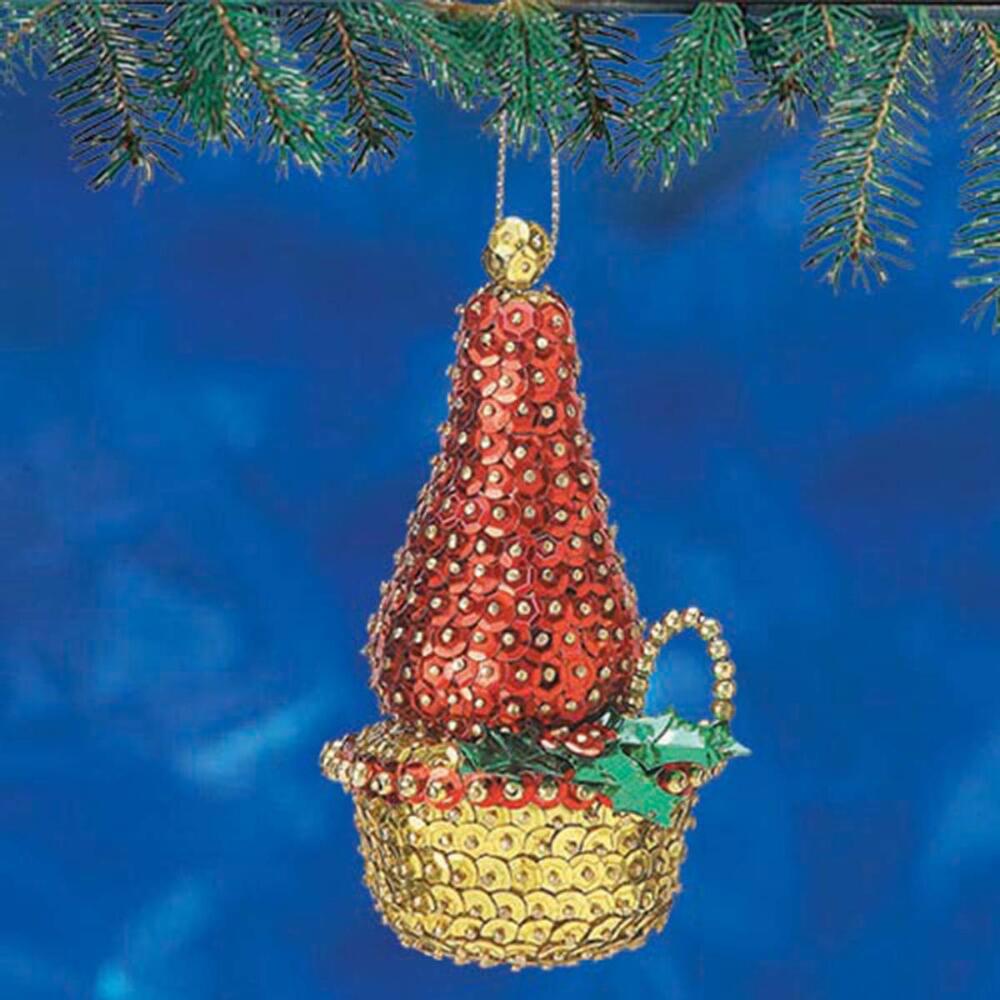 Sunrise Craft & Hobby Holiday Candle Ornament Kit