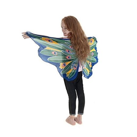 Dreamy Dress-ups Fantasy Peacock Fairy Wings](Peacock Fairy Wings)