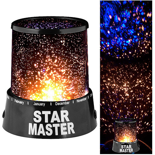 Star Projector Light, Black