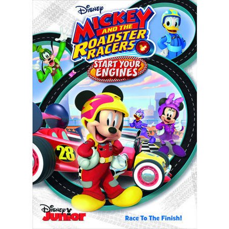 Mickey and The Roadster Racers: Start Your Engines - Mickey Mouse Halloween Movie Online