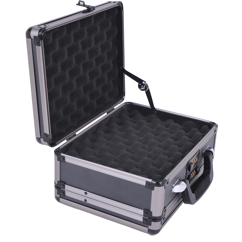 Double Sided Hard Box Combination Lock Gun Safe by Aosom LLC