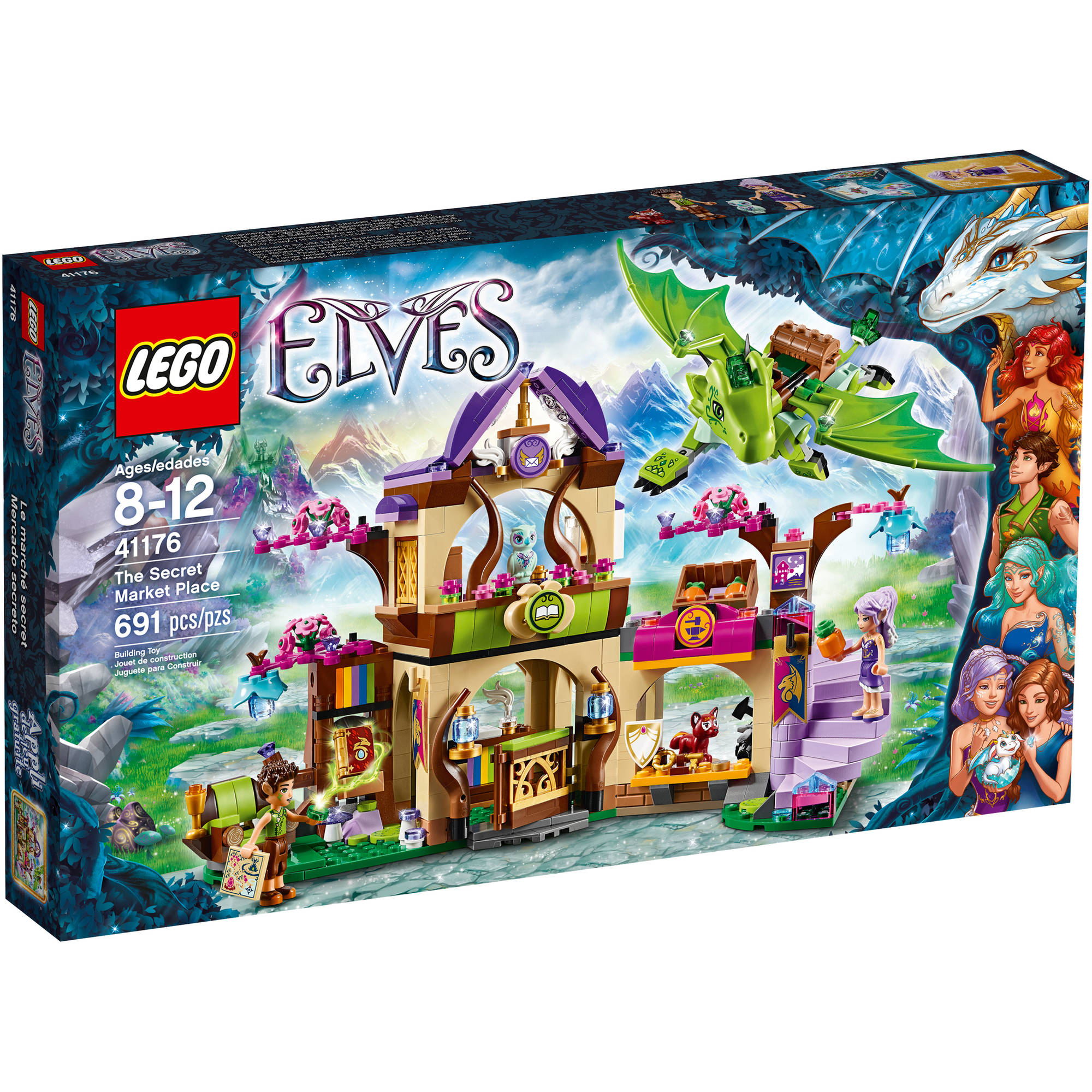 The Secret Lego Market Elves Place41176 wv8mn0NO