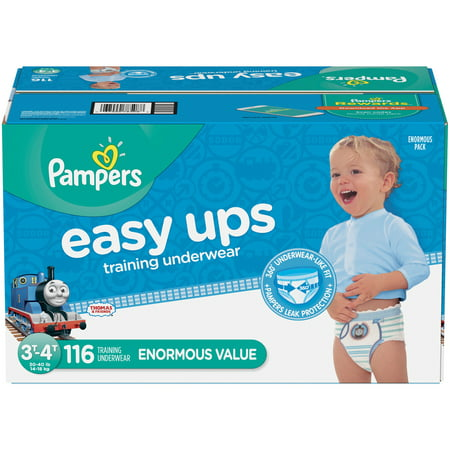 Pampers Easy Ups Boys Training Pants Enormous Pack - 116ct
