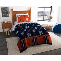 MLB Detroit Tigers Queen Bed In Bag Set