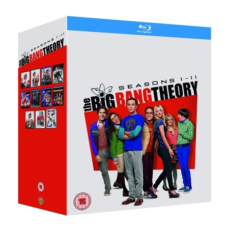 BIG BANG THEORY S1-11 Blu Ray Region Free