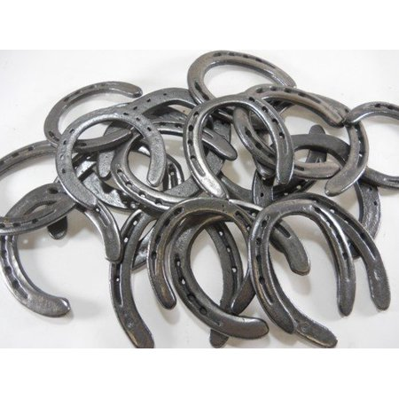 10 Pc New (old look) Cast Iron Horseshoes for Crafting - Horse Shoe Crafts