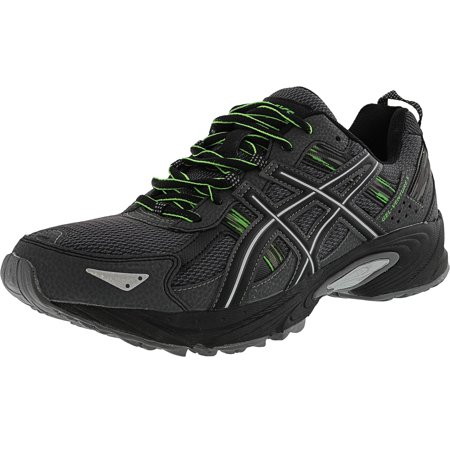 Asics Men's Gel-Venture 5 Carbon / Silver Green Gecko Ankle-High Running Shoe - 7.5M
