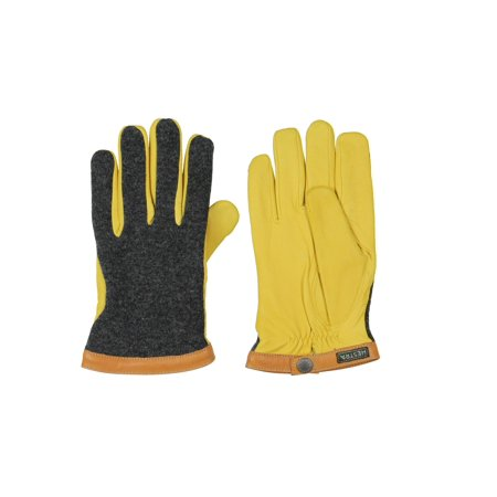 - Hestra Mens Deerskin Wool Leisure Active Athletic Gloves