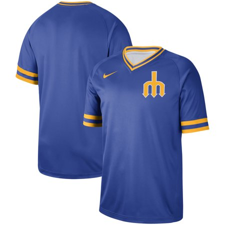 pretty nice 4bc10 e955e Seattle Mariners Nike Cooperstown Collection Legend V-Neck Jersey - Royal