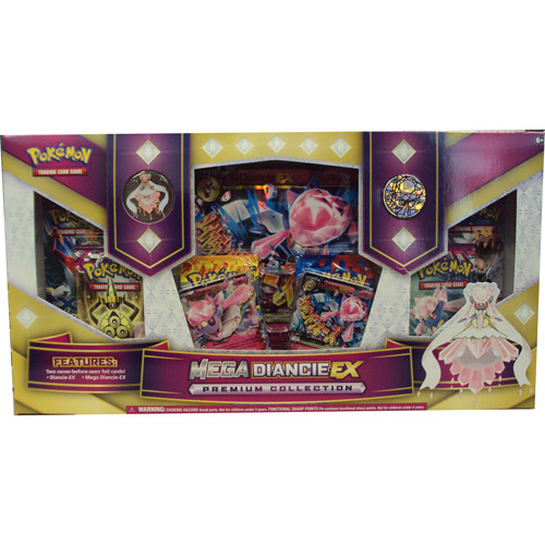 —Pokemon TCG: Mega Diancie-EX Premium Collection Card Game