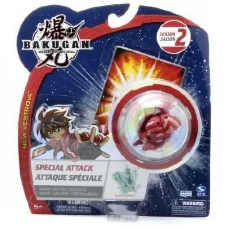 "Bakugan Battle Brawlers Special Attack Season 2: Ingram (Pyrus - Red) - ""NOT"" Randomly Picked, As Shown In the Picture!"