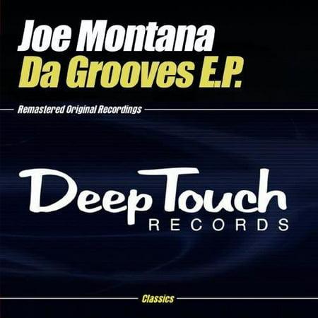Joe Montana Signed Helmet (Joe Montana - Da Grooves E.P.)