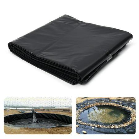 3x10ft HDPE Heavy Duty Fish Pond Liner Pools Membrane Reinforced Landscaping 10' Heavy Duty Wire Reinforced