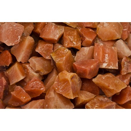 Fantasia Crystal Vault: 1/2 lb Red Aventurine Rough Stones from India - Large 1