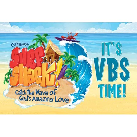 Western Vbs (Vacation Bible School Vbs 2016 Surf Shack Invitation Postcards: Pkg of 25: Catch the Wave of God's Amazing)