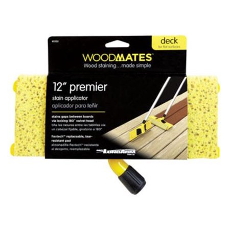 Mr Longarm 0350 Woodmates Premier Deck Stain Applicator, 12""