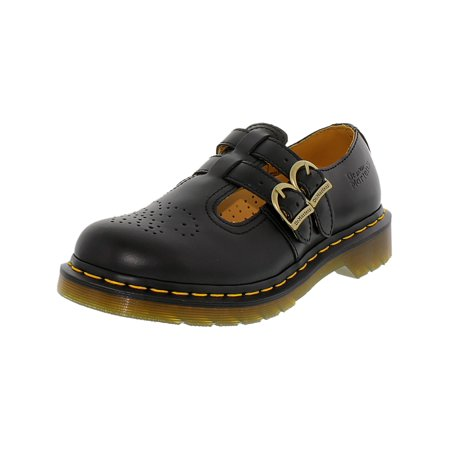 Dr. Martens Women's 8065 Mary Jane Black Ankle-High Flat - 8M](doc martens classic black)