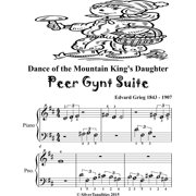 Dance of the Mountain Kings Daughter Peer Gynt Suite Beginner Piano Sheet Music Tadpole Edition - eBook