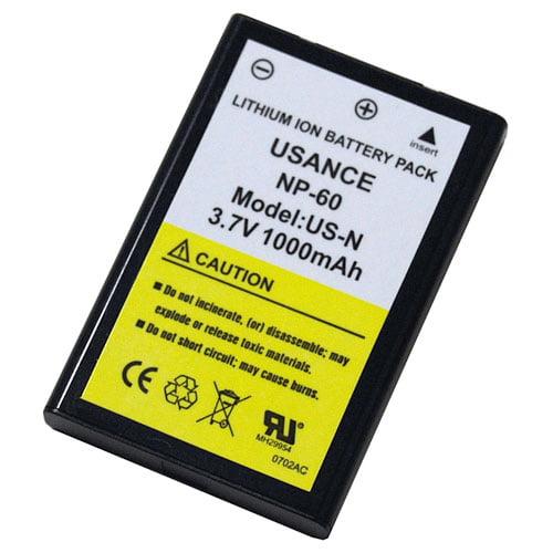 Np 60 Li-ion Recharg Batt Go-hd & A-hd