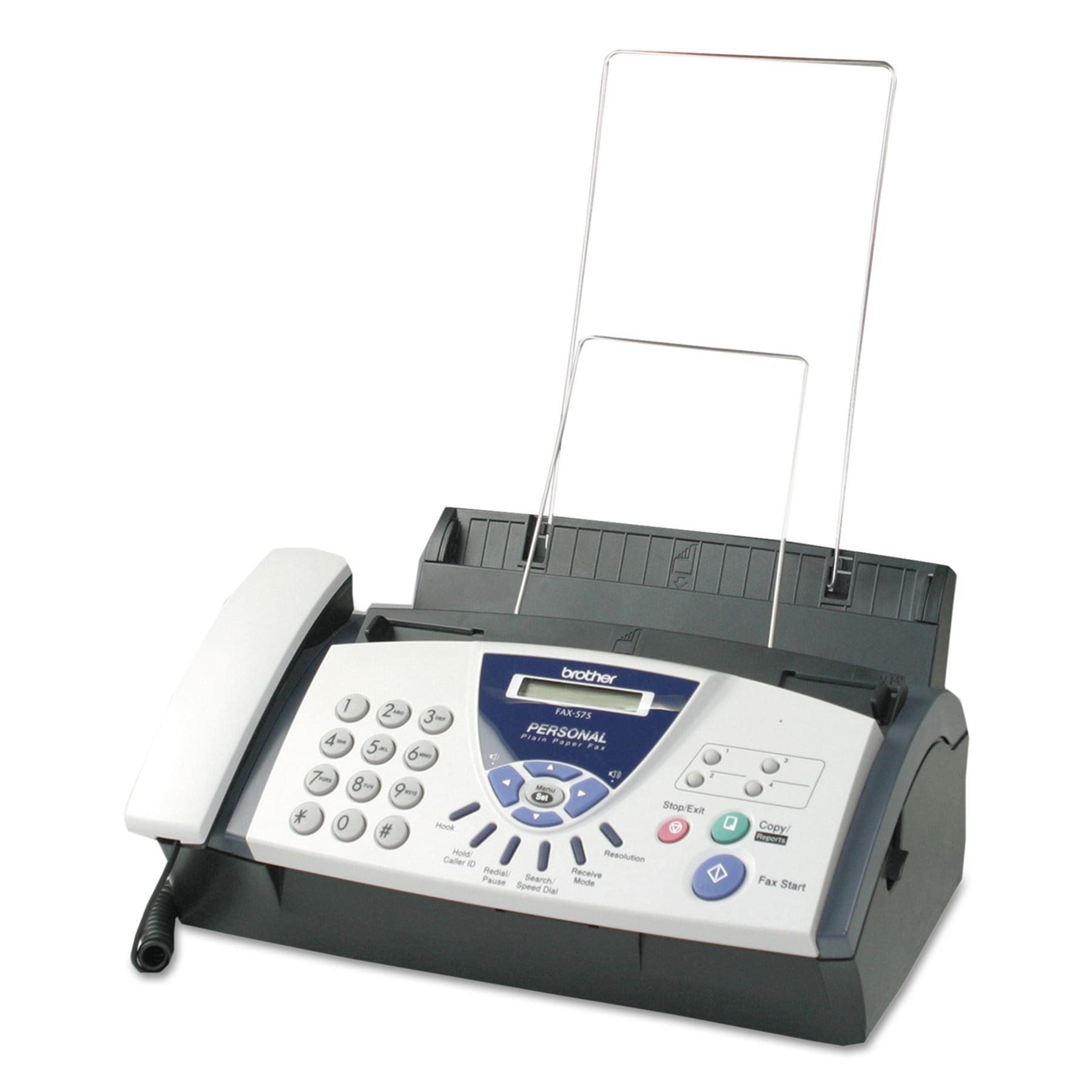 Brother FAX575 Plain Paper Fax / Copier Machine - Walmart.com