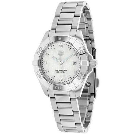 Tag Heuer Women's Aquaracer Watch Quartz Sapphire Crystal WAY1413. BA0920