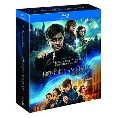 The Stone Collection (Harry Potter 8 Film Collection & Fantastic Beasts - 9-Disc Box Set ( Harry Potter and the Sorcerer's Stone / Harry Potter and the Chamber of Secrets / Harry Pott [ Blu-Ray, Reg.A/B/C Import - Fran)