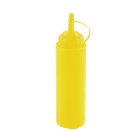 Plastic Vinegar Oil Ketchup Salad Squeeze Bottle Holder Dispenser 220ml