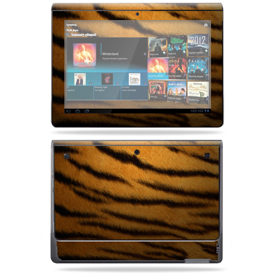 Mightyskins Protective Vinyl Skin Decal Cover for Sony Tablet S wrap sticker skins Brown Butterfly