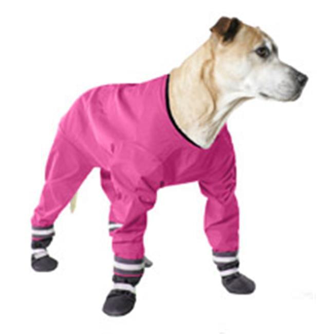 Muttluks Dj18pi 4 Legged Dog Jog Rain Suit Size 18 Pink