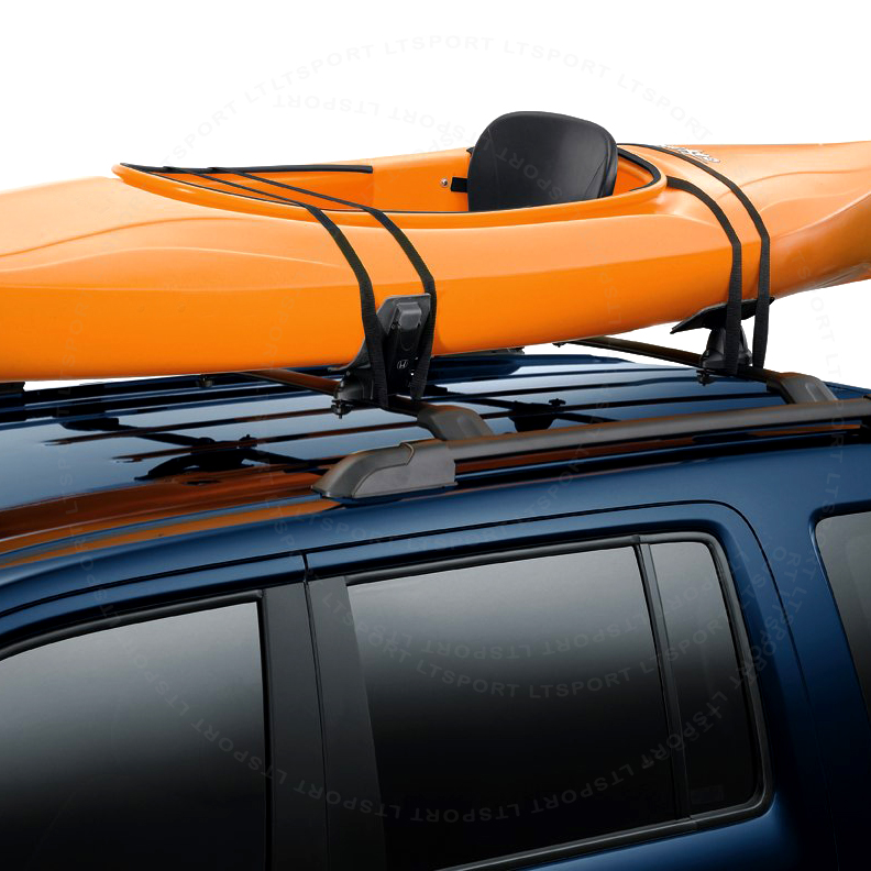 FIT 93 16 MAZDA ROOF SADDLE RACK KAYAK BOAT CANOE BOARD CAR TOP MOUNT  CARRIER
