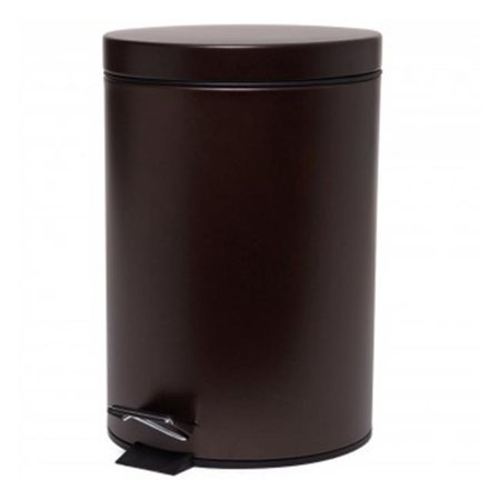 916536 7 Liter Trash Can Step Round - Venetian Bronze