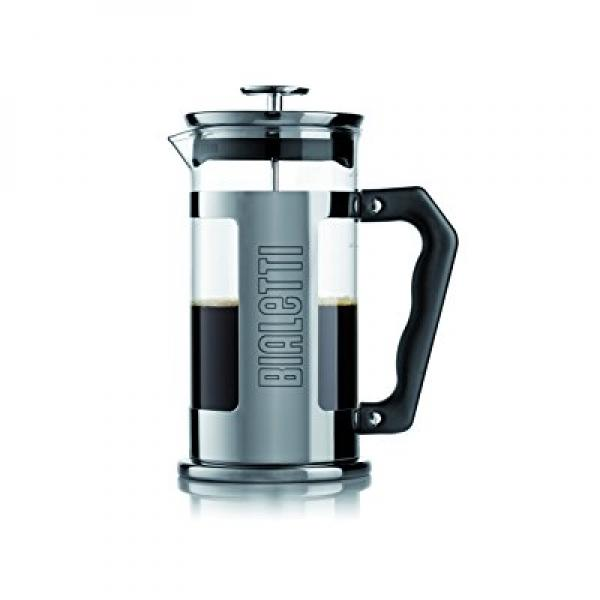 Bialetti 06704 12-Cup French Press Coffee Maker, Stainles...